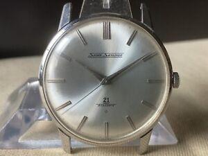 Vintage SEIKO Hand-Winding Watch/ Skyliner Cal.402 21J SS 1962