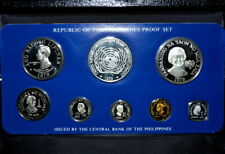 1979 Philippines Coin Proof Set ✪ Franklin Mint ✪ 8 Piece L@K Now ◢Trusted◣