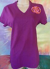 Reebok Junior Purple's T-Shirt Size Medium Made In U.S.A.
