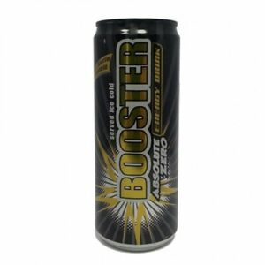 24 Dosen Booster Energy Drink, Absolute Zero á 330 ml, incl. 6,-€ Pfand