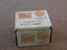 Vintage Nos Everlast Striking Bag Swivel In Box #4440