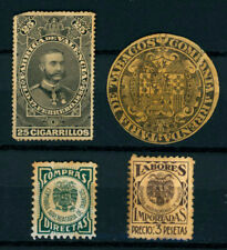 L945 SPAIN. SOME REVENUES STAMPS. FISCALES.