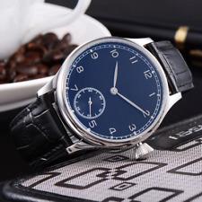 Reloj Geervo para hombre. Movimiento Asian Unitas 6548. Elegancia calidad. Azul