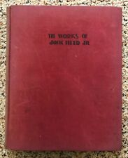 THE WORKS OF JOHN HELD JR 1931 1st Edition Hardcover Book - Cartoons