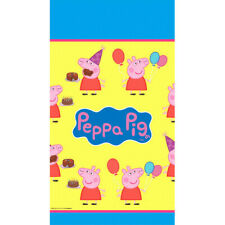 "Peppa Pig Plastic Table Cover 54"" x 96"""