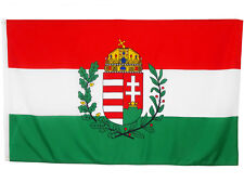 Fahne Ungarn mit Wappen 90 x 150 cm ungarische National Flagge Europa HU