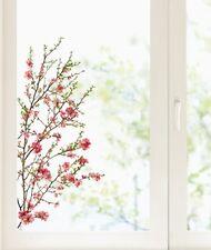 Fenstersticker XXL blühender Apfelbaum Bäume Pflanzen Aufkleber Sticker