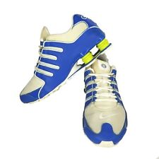 Nike Shox NZ Blue Green 378341-410 Athletic Running Shoes Mens 10 M