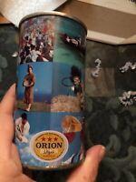 KIRIN & ORION  WIDE SEAM  STEEL BEER CANS   -[READ DESCRIPTION]-