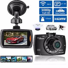 WIFI 1080P HD LCD Car DVR Video Recorder Camera Dash Cam G-Sensor Night Vision