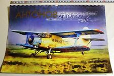Soviet airplane Antonov 70 years AN-2 BIG wall calendar photo posters 40 x 60 cm