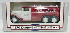 ERTL 1/34 SCALE DIE CAST 1930 DIAMOND T TANKER TRUCK COIN BANK