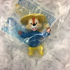 Chip Chipmunk Walt Disney World Epcot 1993 Collectible McDonalds Happy Meal Toy
