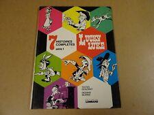 BD EO / LUCKY LUKE - 7 HISTOIRES COMPLETES SERIE 1