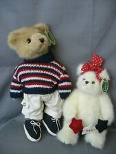 2 Bearington Bears - Ronnie And Miss Independence - New With Tags