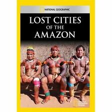 LOST CITIES OF THE AMAZON NEW DVD