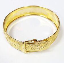 HAYWARD 1/20-12K GOLDFILLED Buckle Bangle Bracelet