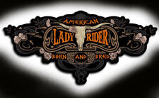 American Lady Rider Patch 5 inch