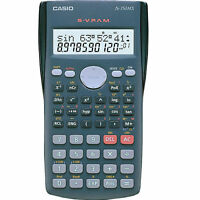 Casio FX-350MS Scientific Calculator 240 Functions Statistics 2-Line Display NEW