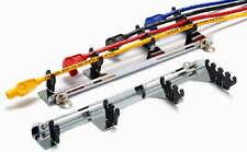 Taylor 42460 Chrome/ Blue spark plug wire loom kit