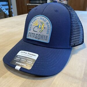 Patagonia Soft Hackle Lopro Trucker Hat - New With Tags - New Navy