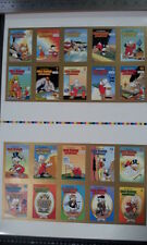 UNCLE SCROOGE Trading Cards - UNCUT- ADVENTURES IN COLOR #1-16 & DON ROSA #1-4