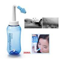 300ml Nasal Nose Wash Rinsing System Neti Pot Sinus Irrigation Bottle Wash Tools