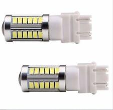 2X 33SMD T25 3157 3156 LED Bulbs White For Brake Tail Backup Reverse Light 700LM