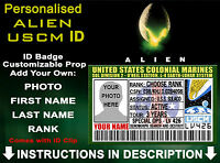 Aliens USCM US Colonial Marines Customised Fancy Dress Prop Comic Con Christmas