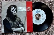 "MICHAEL JACKSON / I JUST CAN'T STOP LOVING YOU - 7"" (printed in Holland 1987)"