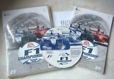 Apple Mac F1 campeonato temporada 2000 Racing Mac OS 9.1-10.1.3 EA Sports