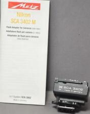 METZ SCA 3402 Nikon Adapter for Flash [C]