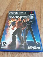 Playstation Games PS2 FANTASTIC 4 Old School Complete Gaming with Manual VGC
