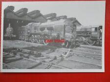 POSTCARD LMS PATRIOT LOCO NO 45516 AT PRESTON LOCO SHEDS 1948 - THE BEDFORDSHIRE