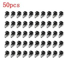 50Pcs Cowl & Fender Liner Clips Push Pin For Ford Hummer GM Torrent Equinox USA