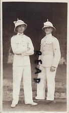Soldier 2x Privates Moore & Garepo 1st Battalion Royal Fusiliers sun helmet