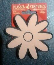 Rubber Stampede decorative craft stamp Daisy. DIY, decor, art, scrapbooking