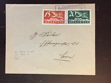 1926 Switzerland Flight Cover La Chaux-De-Fonds to Bale