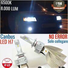 Kit FULL LED H7 Anabbaglianti AUDI A4 b6 00-04 CANBUS 6500K luci fari sline avan