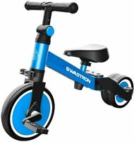 SWAGTRON K7 3-in-1 Ride-On Balance Trike Bike for Kids Ages 10 Months-5 Years