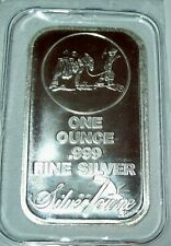 Silvertowne Prospector 1 Troy Oz. .999 Fine Silver Bar One Ounce Bullion Sealed