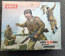 HO Scale British WWII Commandos in Original Packaging / Vintage Airfix kit