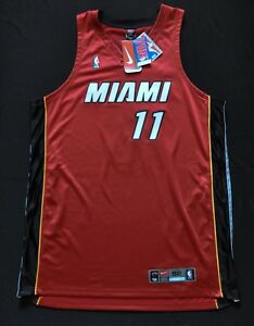 RAFER ALSTON SKIP TO MY LOU MIAMI HEAT AUTHENTIC NBA JERSEY RED NIKE SEWN 52 2XL