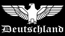 Deutscher Reichsadler Auto Aufkleber Adler für Ihre Heckscheibe