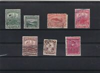newfoundland early used stamps ref r8828
