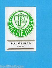 FOOTBALL CLUBS-PANINI 1975-Figurina n.37- PALMEIRAS  BRASILE - SCUDETTO -Rec