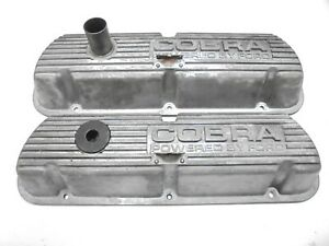 1966-1970 Ford Mustang GT350-289 -302-351W Cobra Valve Covers - Pair