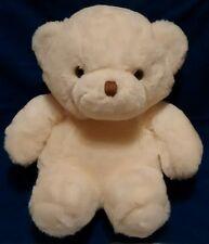 "Vintage AMC 1982 White Teddy Bear Best Friends Soft Plush Stuffed Animal 14"""