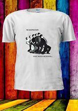 Madness Mens One Step Beyond Album Cover Slim Fit T-Shirt