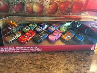 Disney Pixar Cars Die Cast 1:55 Piston Cup Race 11 Pack Trunk Fresh Exclusive